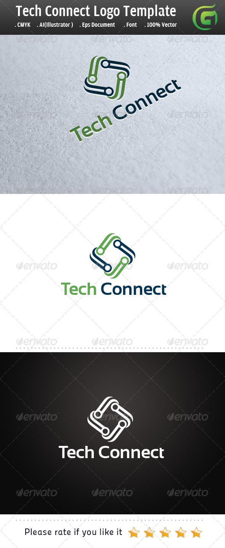 Tech Connect  - Symbols Logo Templates