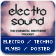 Electro Techno Flyer Poster - GraphicRiver Item for Sale