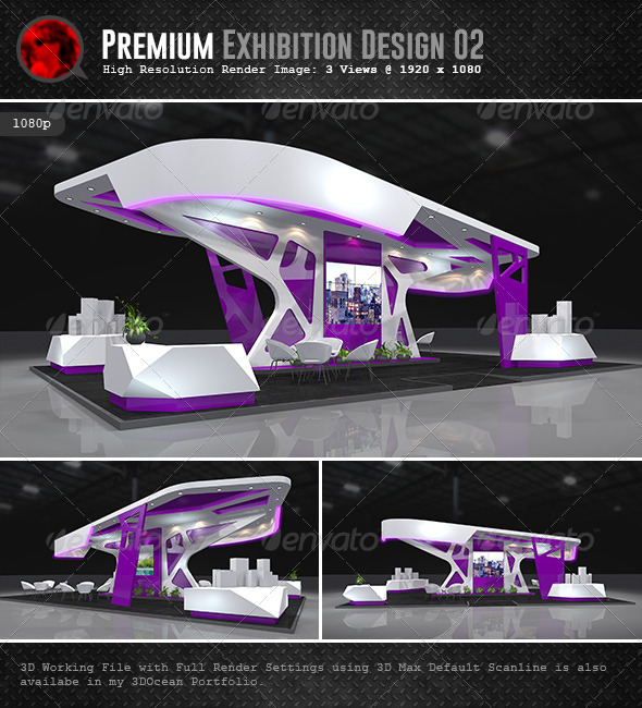 Exhibition Booth Vector Free Download : Premium exhibition design by abellangbid graphicriver