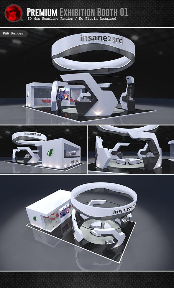 Exhibition Stand Circle : Premium exhibition design by abellangbid docean