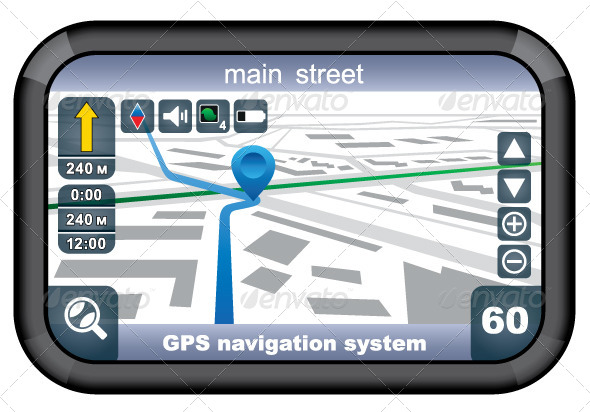 GPS Navigator - Computers Technology