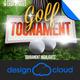 Golf Tourament Event Promo Flyer