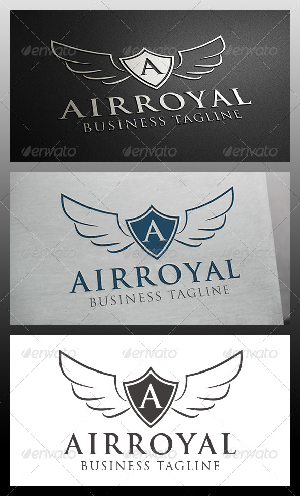Airline Crest Logo Template - Crests Logo Templates
