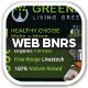 Green Pi Healthy Living Web Banners - GraphicRiver Item for Sale