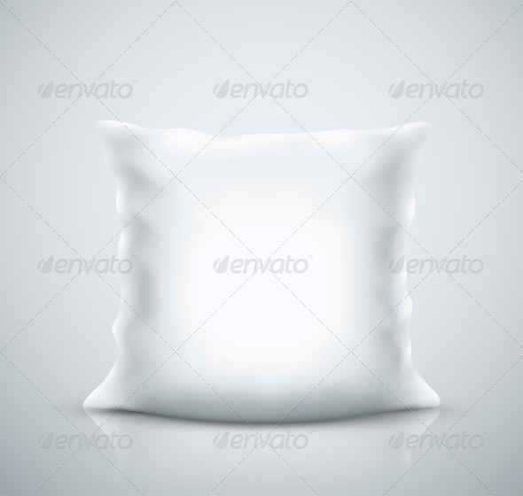 Isolated Pillow - Man-made Objects Objects