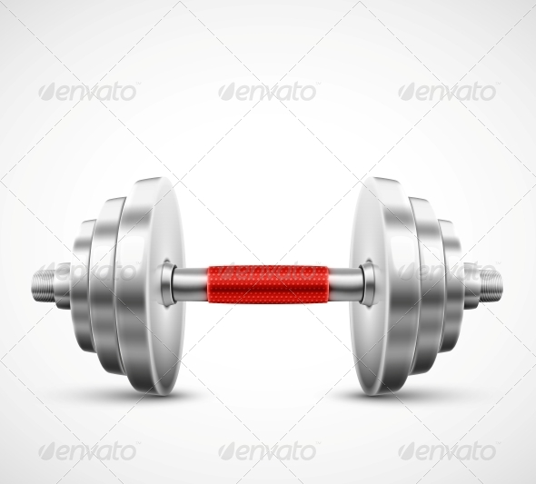 Isolated Dumbbell - Sports/Activity Conceptual