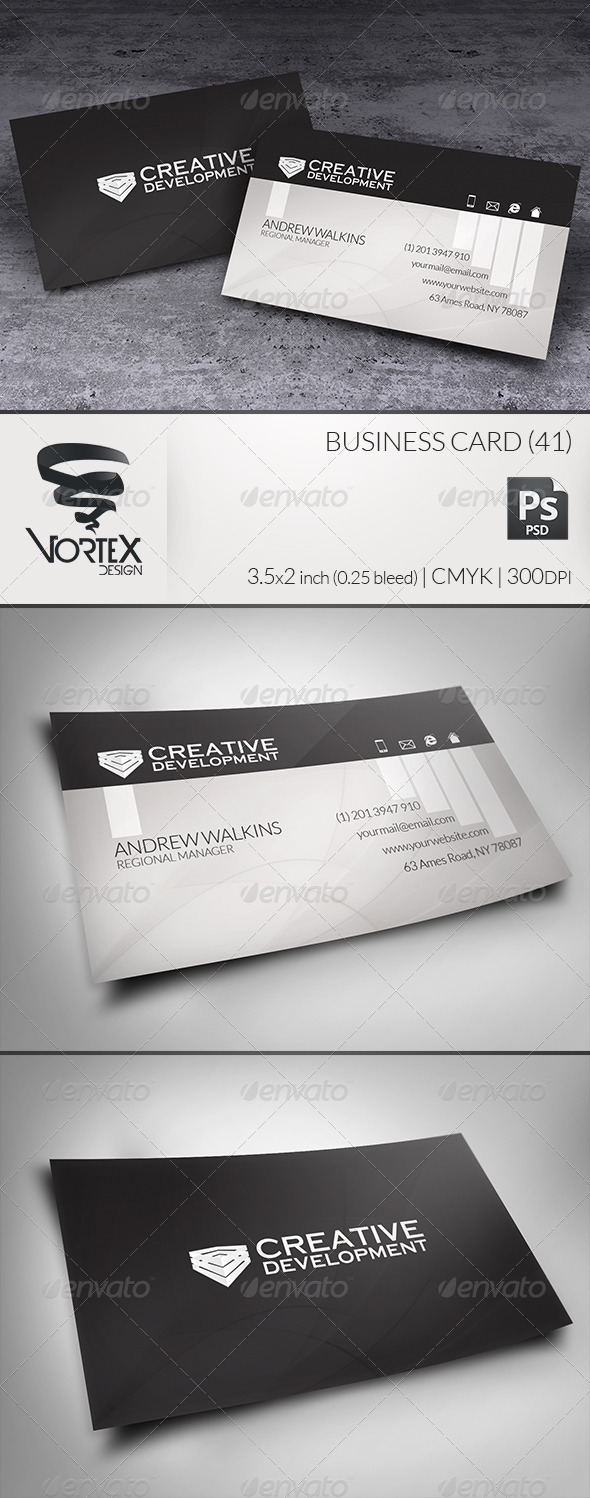 Business Card 41 - Corporate Business Cards