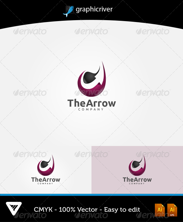 The Arrow Logo - Logo Templates