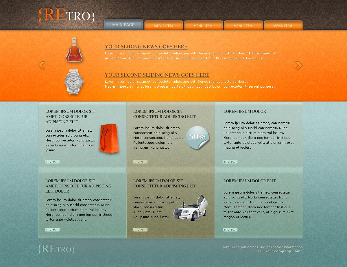 Free Download REtro template Nulled Latest Version