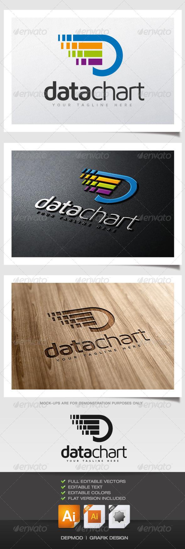 Data Chart Logo - Abstract Logo Templates