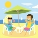 Beach Summer Vacation - GraphicRiver Item for Sale