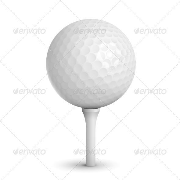 Golf Ball - Sports/Activity Conceptual