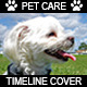 Pet Care Facebook Timeline Cover - GraphicRiver Item for Sale