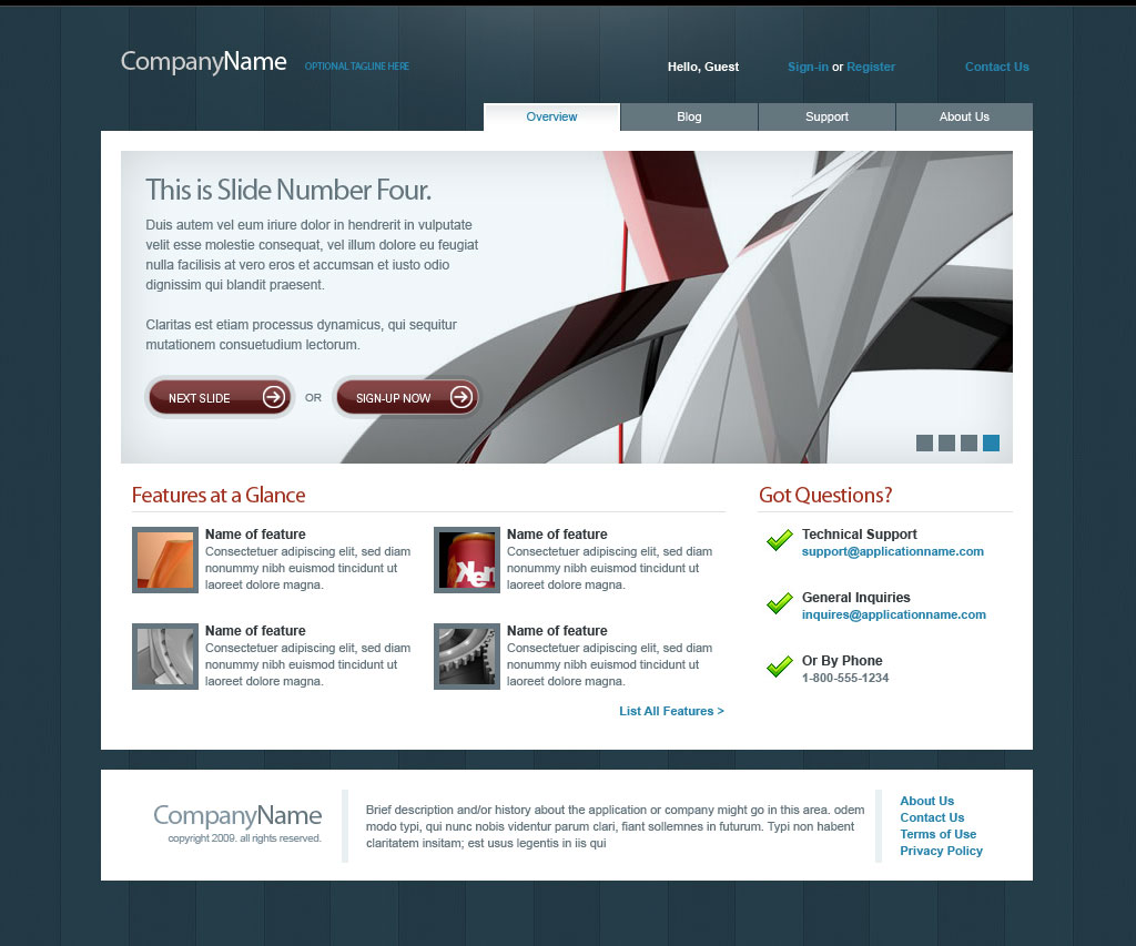 Free Download Slick Template 1.0 Nulled Latest Version