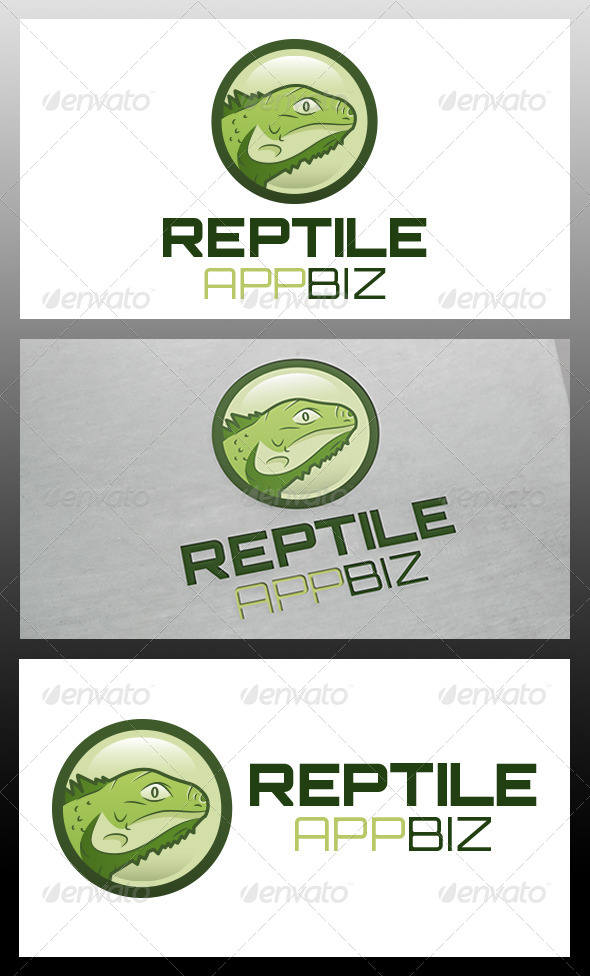Lizard Logo Template - Animals Logo Templates