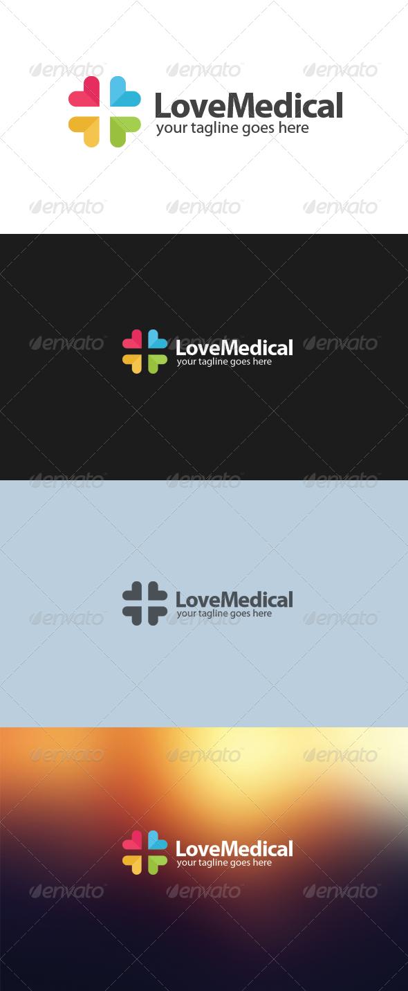 Love Medical Logo - Symbols Logo Templates