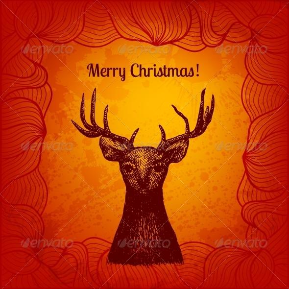 Artistic Colorful Vector Illustration - Christmas Seasons/Holidays