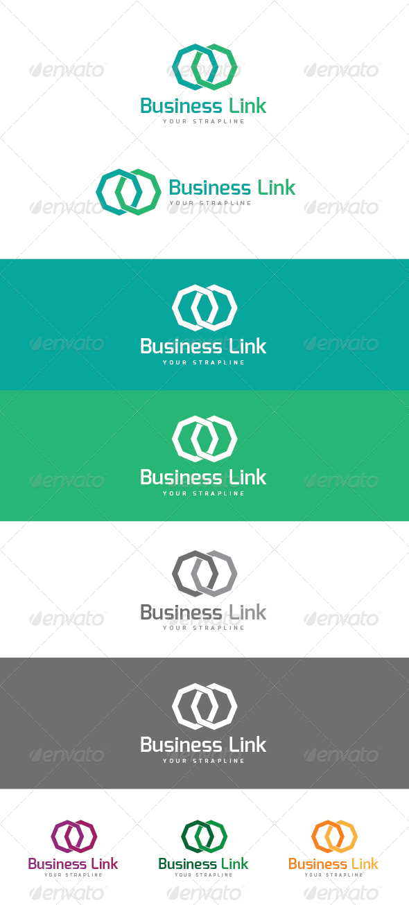 Business Link Logo - Symbols Logo Templates