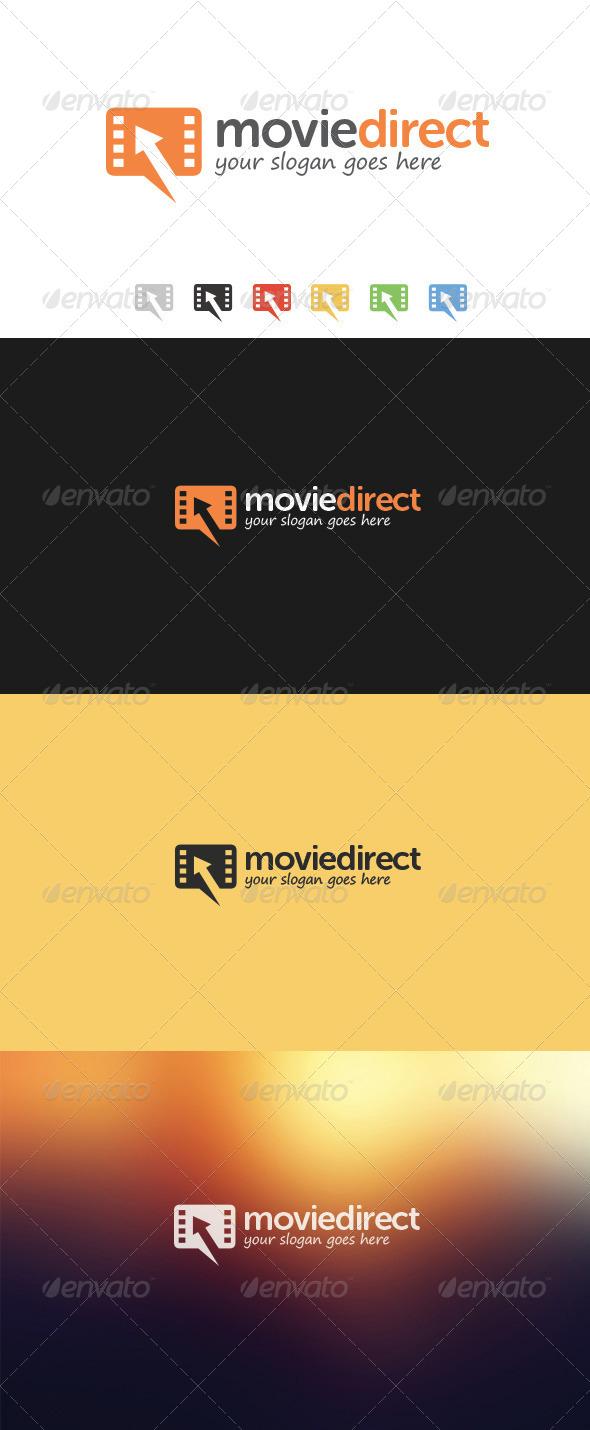 Movie Direct Logo - Symbols Logo Templates