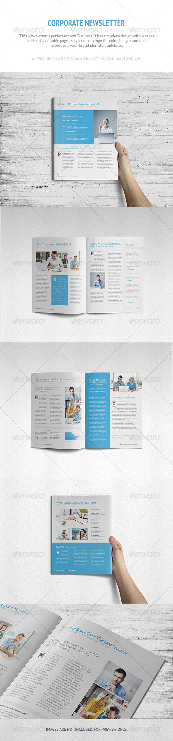 LETR Corporate Newsletter - Newsletters Print Templates