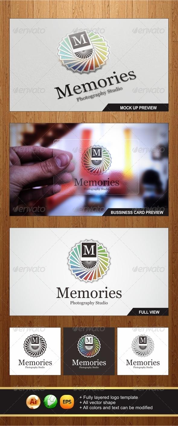 Memories Photo Logo - Letters Logo Templates