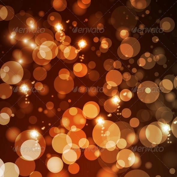 Abstract Lights Background - Christmas Seasons/Holidays