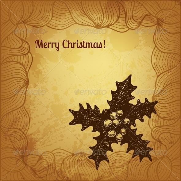 Artistic Vector Christmas Card - Christmas Seasons/Holidays