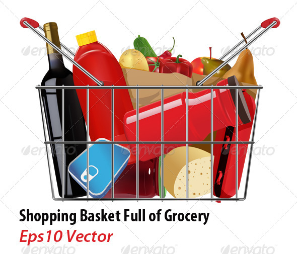 Grocery - Food Objects