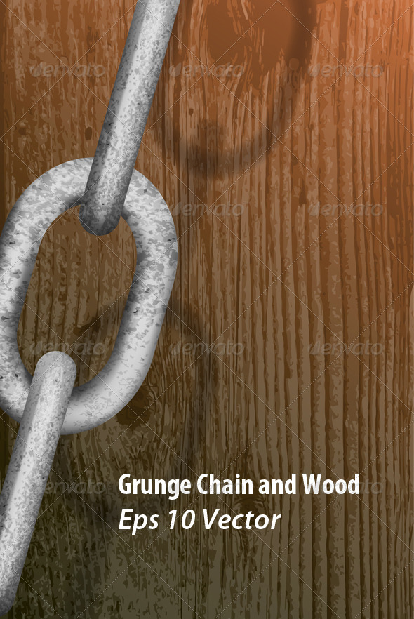 Grunge Chain - Backgrounds Decorative