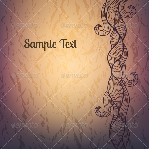 Abstract Textured Vector Background - Backgrounds Decorative