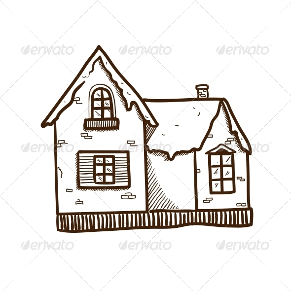 Winter House. - Christmas Seasons/Holidays