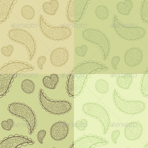 Collection of Seamless Patterns - Patterns Decorative