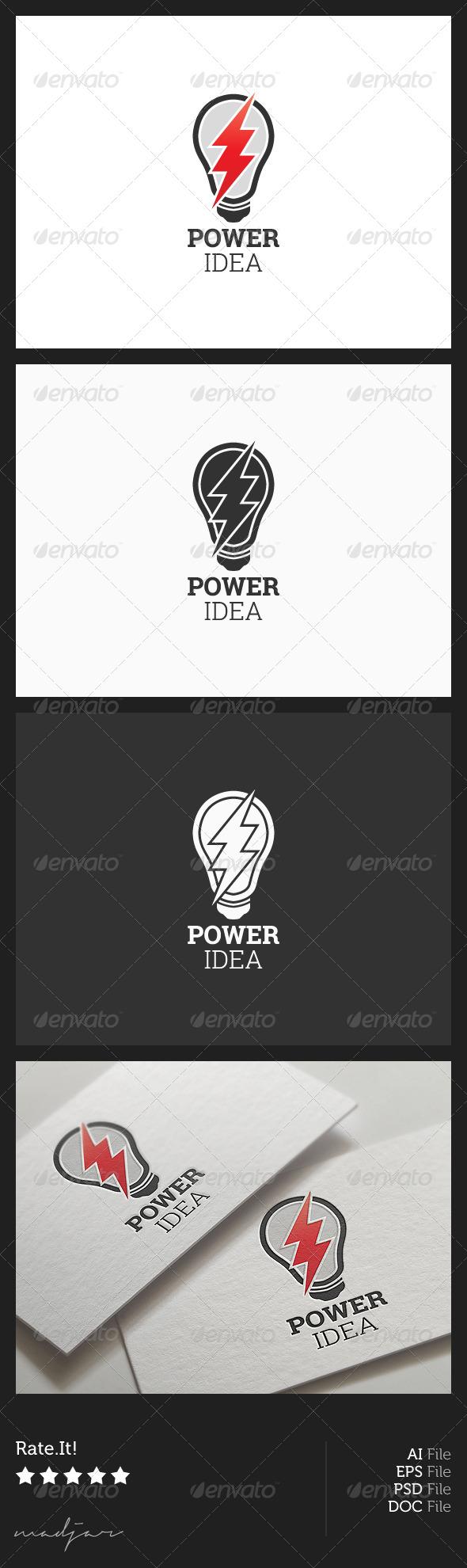 Power Idea Logo - Symbols Logo Templates