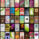 40 Vertical Business Cards Or Backgrounds (2) - GraphicRiver Item for Sale