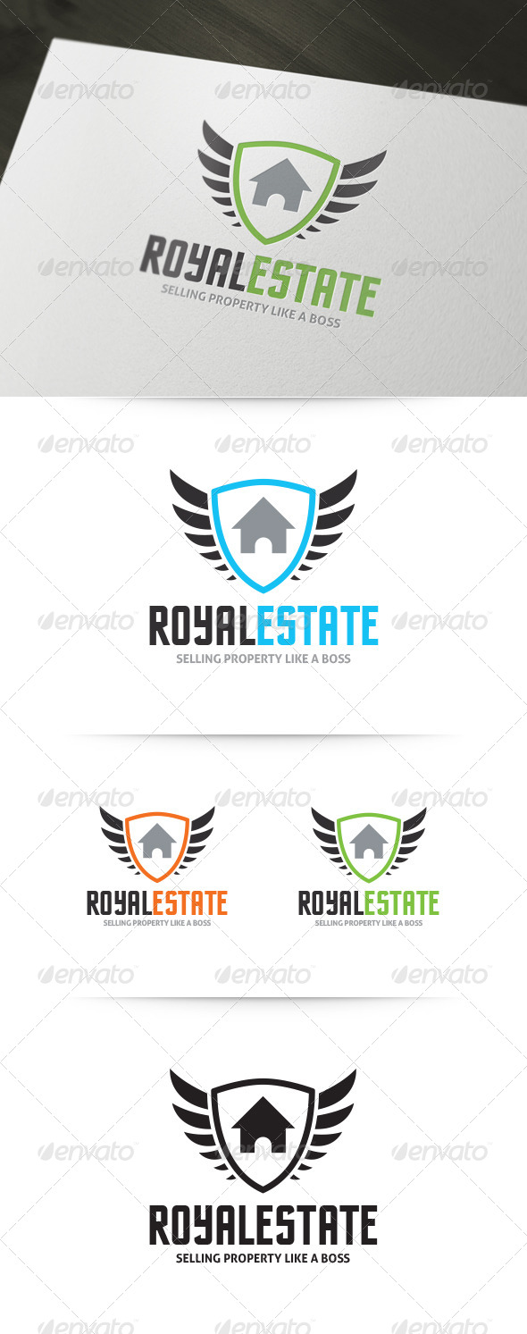 Royal Real Estate Logo - Crests Logo Templates