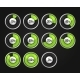 Set of Progress Indicator Circles - GraphicRiver Item for Sale