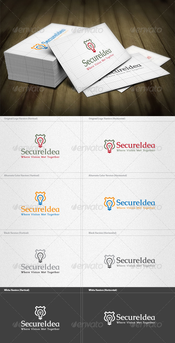 Secure Idea Logo - Symbols Logo Templates
