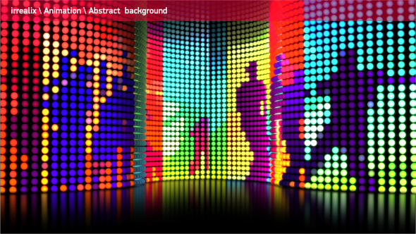 Led lights wall 05 by irrealix videohive play preview video aloadofball Images