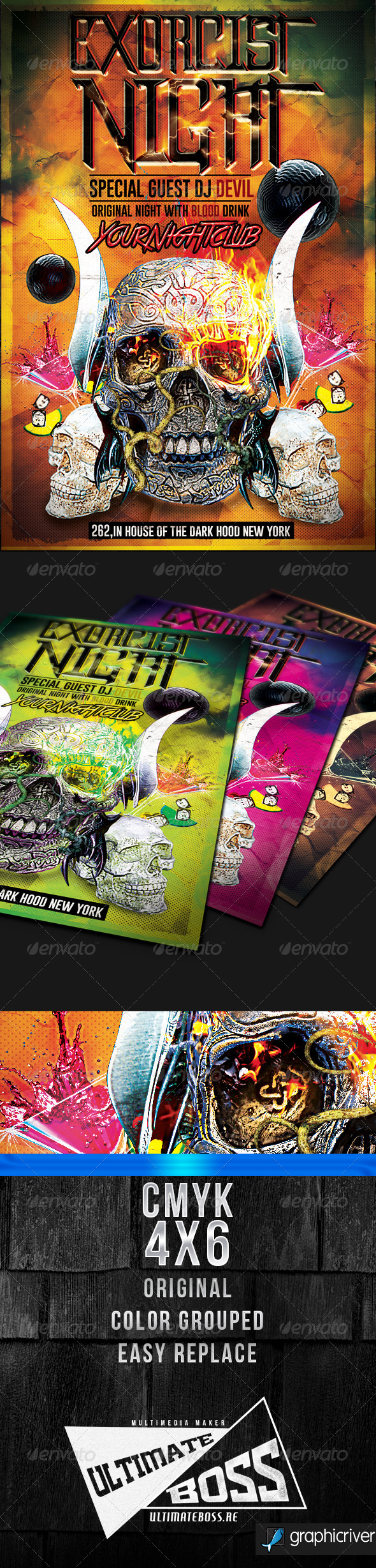 Exorcist Night - Clubs & Parties Events