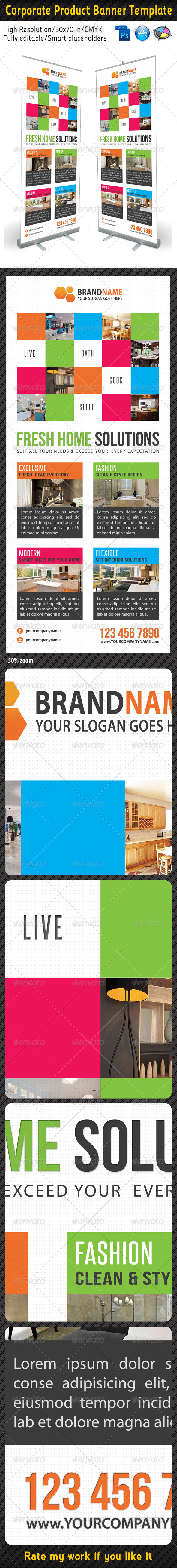 Corporate Multipurpose Banner Template 23 - Signage Print Templates