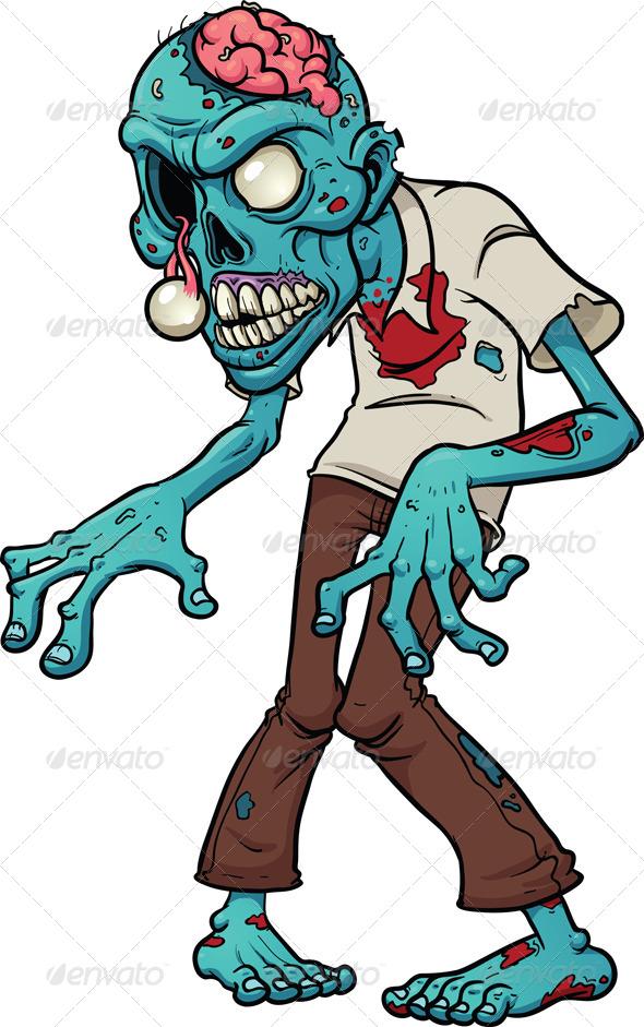 Cartoon Zombie - Monsters Characters