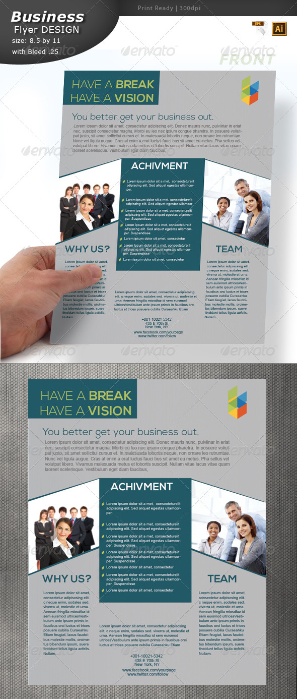 Business Flyer Design - Corporate Flyers