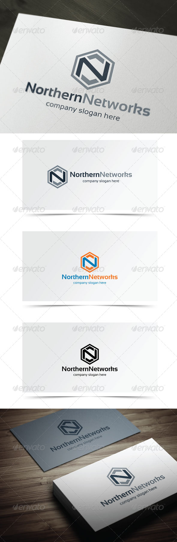 Northern Networks - Letters Logo Templates