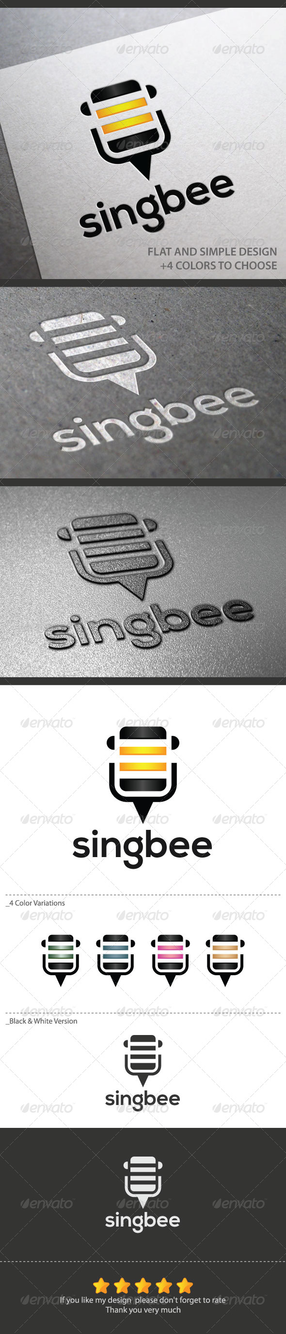 Singbee - Animals Logo Templates