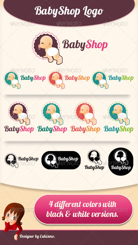 Baby Shop Logo - Humans Logo Templates