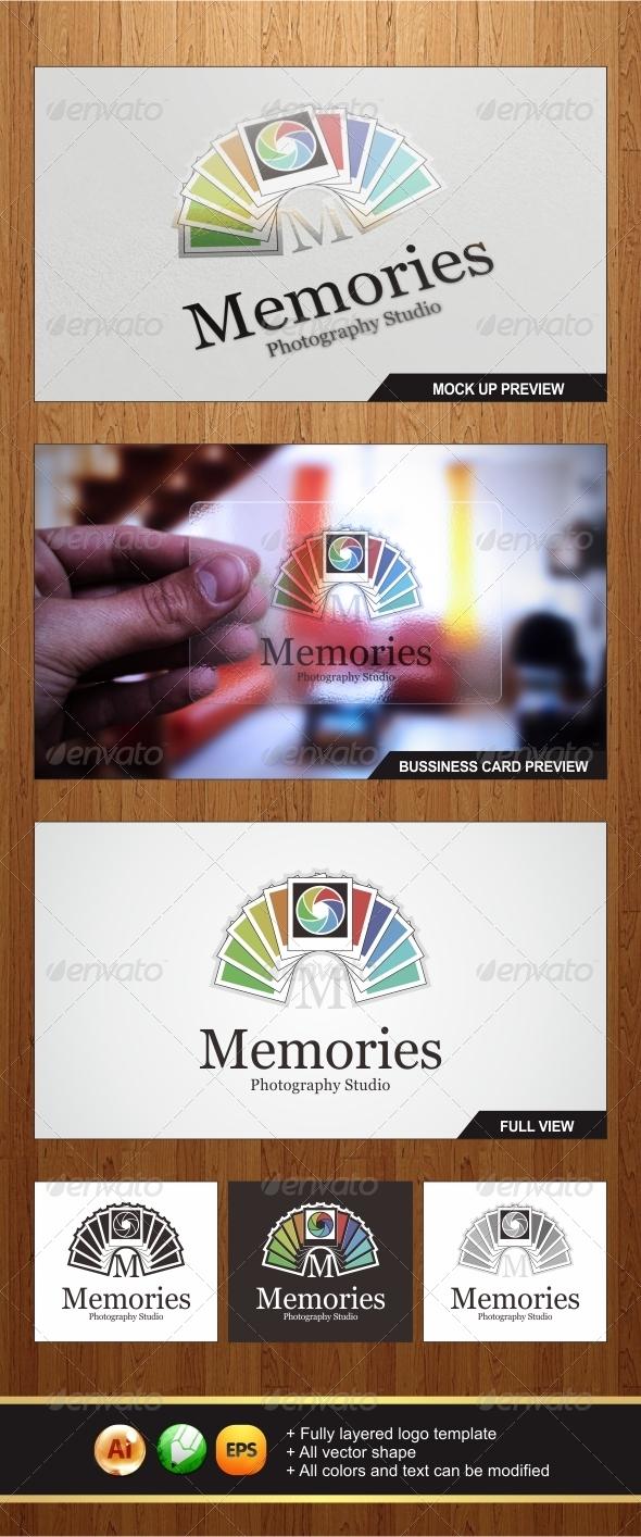 Memories Photo Logo 2 - Letters Logo Templates