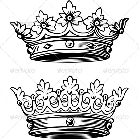 Crowns - Man-made Objects Objects