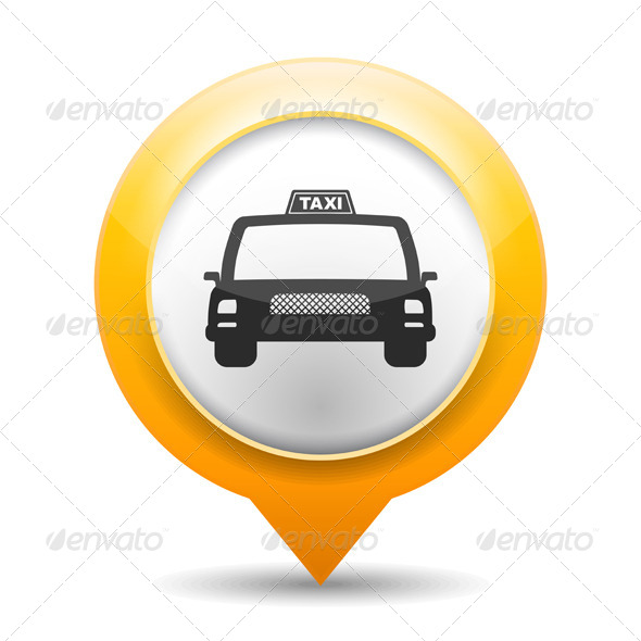 Taxi Icon - Miscellaneous Vectors