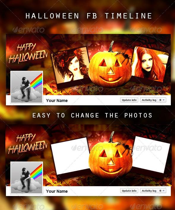 Halloween FB Timeline - Facebook Timeline Covers Social Media