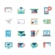 Email Icons - GraphicRiver Item for Sale